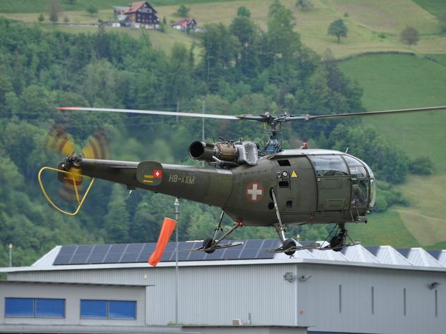 HB-XXM Eurocopter Se 3160 Alouette 3